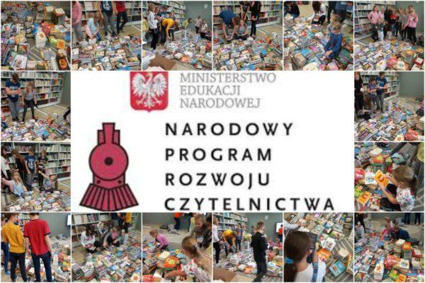 Książki zakupione wramach Narodowego Programu Rozwoju Czytelnictwa są już wbibliotece!