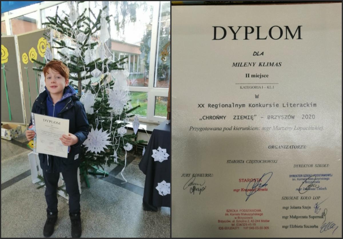 laureat idyplom dla laureatki
