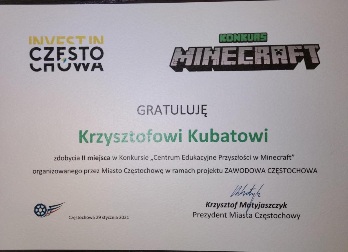 Krzysiek-dyplom