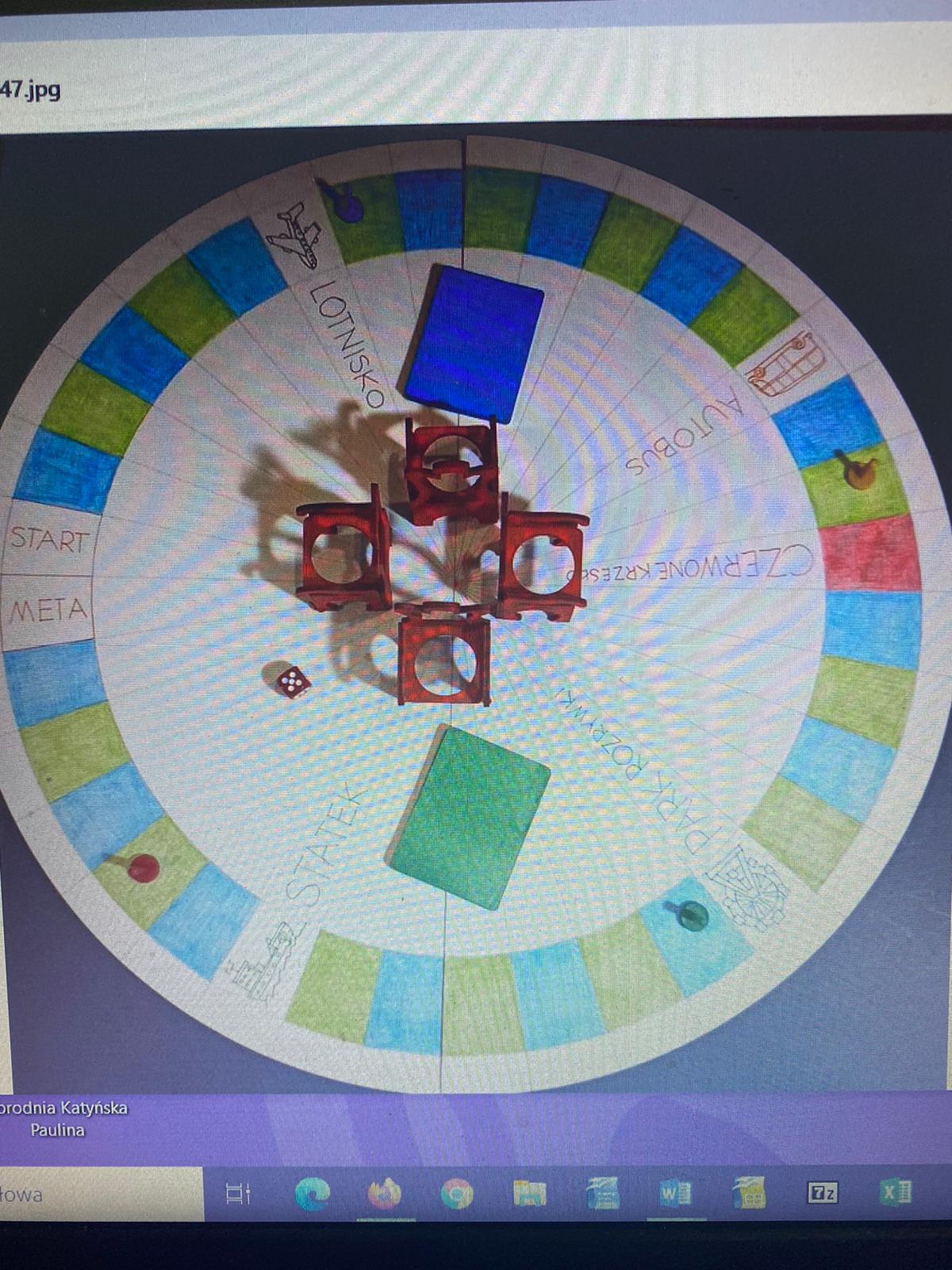 3_ gra czerwone krzesło