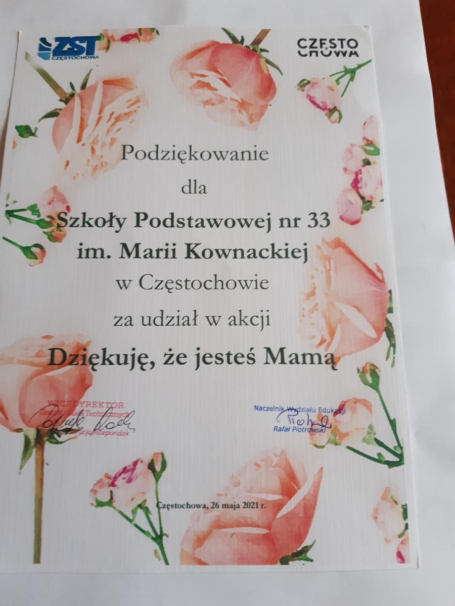 2-Dyplom dla szkoły